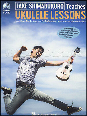 Jake Shimabukuro Teaches Ukulele Lessons Sheet Music Book with Video