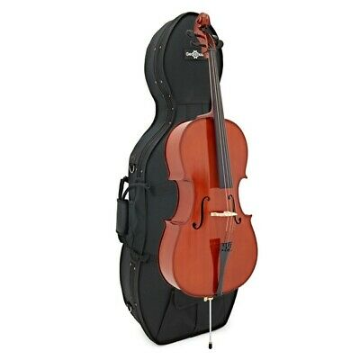 Student Plus Full Size Cello with Case by Gear4music