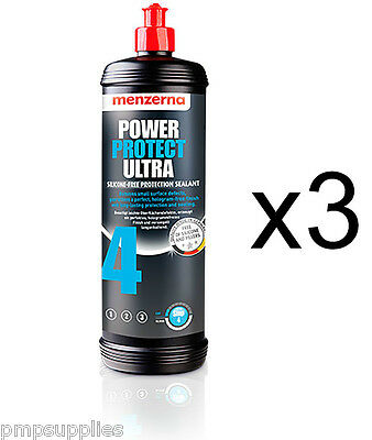 Menzerna Power Protect Ultra Silicone Free Protection Sealant 3 PACK bargain