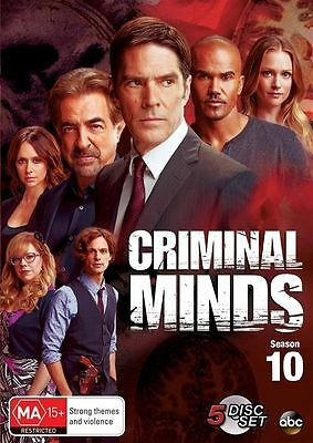 Criminal Minds: Season 10 (DVD, 2015, 5-Disc Set), NEW SEALED REGION 4