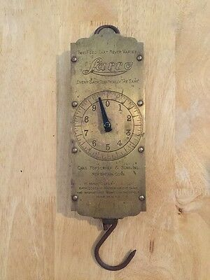 Vintage LARRO Feed Scale Made Of Brass