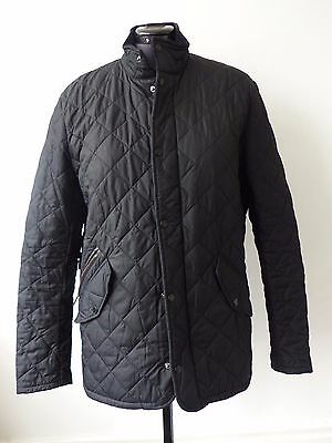 Barbour Men's Chelsea Sportsquilt Jacket - Black M