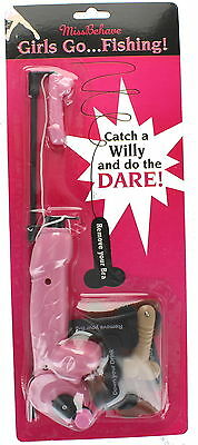 Hen Night Miss Behave Girls Go Fishing! Catch A Willy & Do A Dare Hen Party Game