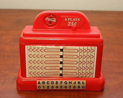 Coca Cola Juke Box Bank