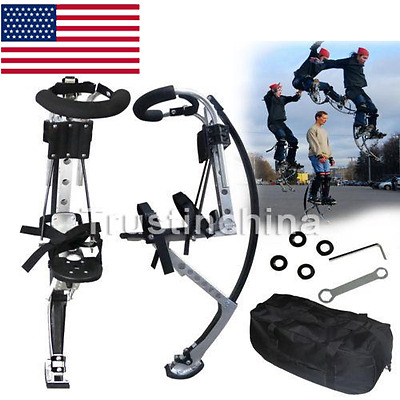 Jumping Stilts Bouncing Shoes Adult Fitness Exercise(155~200Ibs) Sporting USA