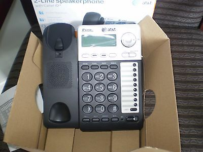 New AT&T ML17929 2 Line Office Phone Caller ID Waiting Speakerphone Conference