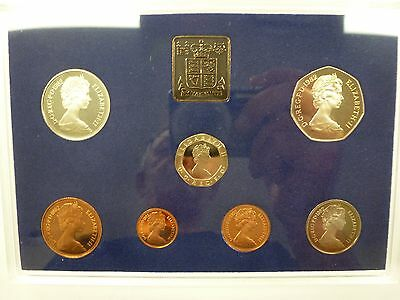 Coinage Of Great Britain & Northern Ireland, 1982 7Coin Proof Set, Sealed