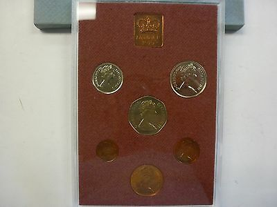 Coinage Of Great Britain & Northern Ireland, 1979 6-Coin Proof Set, Sealed