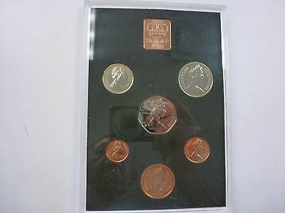 1971 The Decimal Coinage of Great Britain and Northern Ireland Coin Set