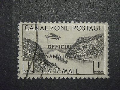 Canal Zone Co7 Postally Used Vf