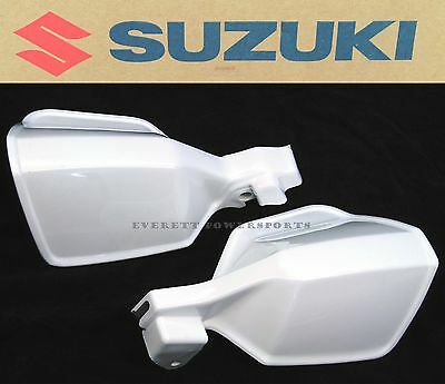 White Hand Guard Handguard Set Guards Handguards DR 650 200 SE (See Notes) i142