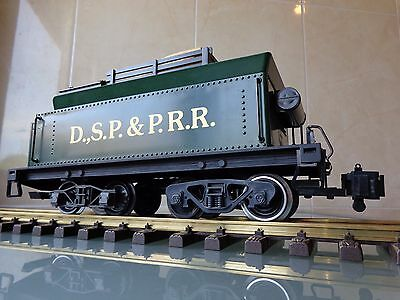 LGB 2018D DSP & PRR tender from Steam Mogul Locomotive G Scale FOR PARTS/PROJECT
