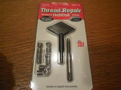 NEW Helicoil Thread Repair Kit 1/4-20 5521-4
