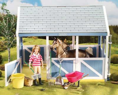 Breyer Classics #61074 Stable Cleaning Set! (Horse/Barn/Figure sold separately)