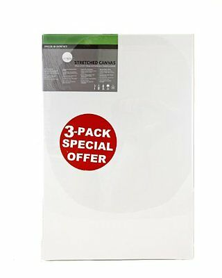 Daler Rowney 60cm Simply Canvas Pack 50