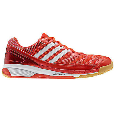 Adidas Feather Indoor Court Shoes Squash / Badminton Shoes - Red US 6 / AU 5.5