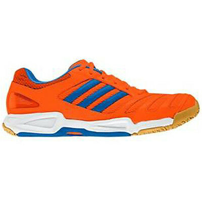 Adidas BT Feather Team Indoor Court Shoes Squash Shoes - Orange US 7 / AU 6.5