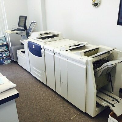Xerox DocuColor 700 Digital Color Press w/ Inserter/Booklet Maker/Staple/Punch