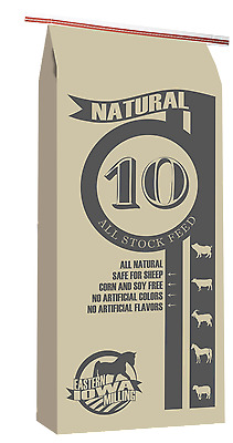 Natural 10 All Stock Feed- 100% All Natural 50 lbs