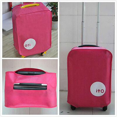 Travel Luggage Protective Cover Case Waterproof Dustproof for Suitcase 20-28''