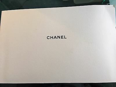 Chanel Camellia And Felt Pouch