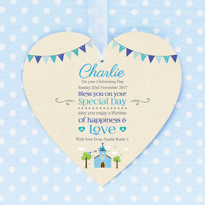 Personalised Christening Confirmation First Holy Communion Baptism Boy Girl Gift