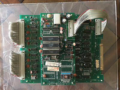 MOON PATROL PCB 1982 Williams -  ARCADE MACHINE - ORIGINAL RARE DEDICATED