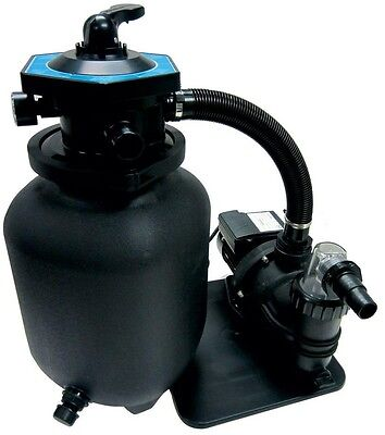 Sand Filter System Pool Sand Filter With Pump 8 M And Pre Filter Splash 250 Picclick Uk