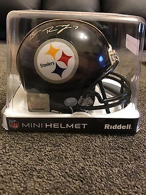 Ben Roethlisberger Signed Mini Helmet