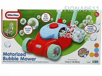 Little Tikes Motorized Bubble Lawn Mower Toddler 18M + *brand New & Sealed*