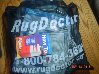 Rug Doctor Steam Cleaner Upholstery Accessory Set and Mesh Bag