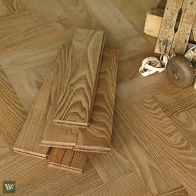 Hardest Domestic Wood Floor / Rot Resistant / Black Locust Parquet Fishbone HS28
