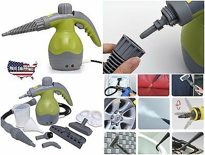 Steam Cleaning Machine Hand Held Steamer Sanitizers Fabric Bed Home Clothes Car