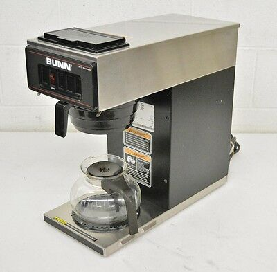 Bunn VP17-1 Stainless Steel Commercial Pour-Over Drip Coffee Maker w/Carafe LOOK
