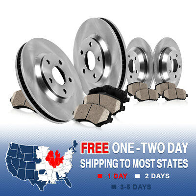 Front and Rear Rotors & Ceramic Pads 1995 1996 1997 1998 1999 - 2001 740i 740iL