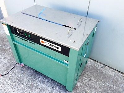 Strapping Machine - Second Hand Semi Automatic Signode strapping machine