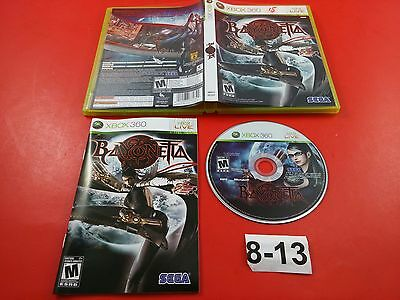 Bayonetta [CIB Complete in Box] (Microsoft Xbox 360) Tested & Working