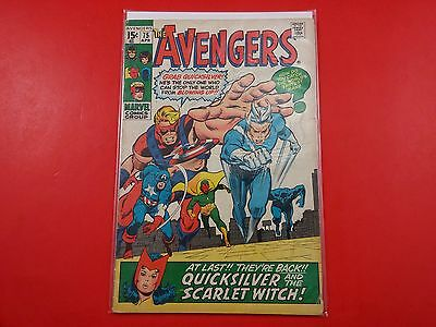 The Avengers #75 1st Appearance Akron 1970
