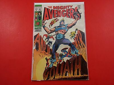 The Mighty The Avengers #63 1969