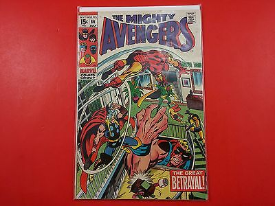 The Mighty The Avengers #66 1969 1st Ultron-6