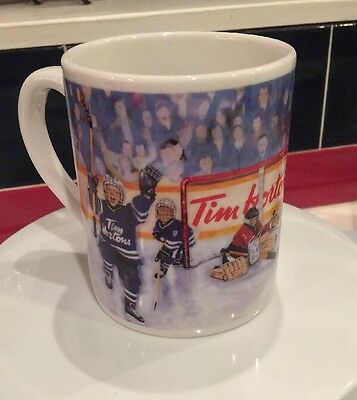 "Tim Hortons  ""Winning Goal"" Coffee Mug Limited Edition #002, Hockey Kids"