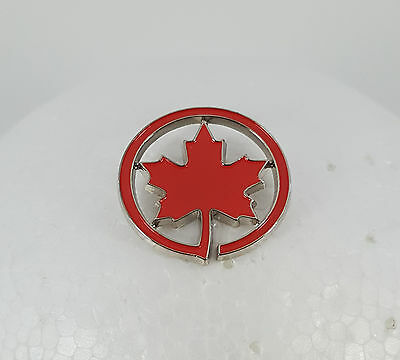 Official Air Canada Logo Lapel Hat Collectible Pin