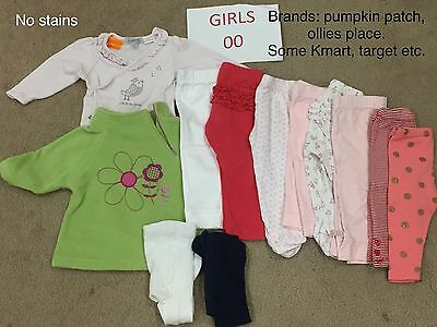 Baby Girls Clothes. Size 00. Bulk Pack 2
