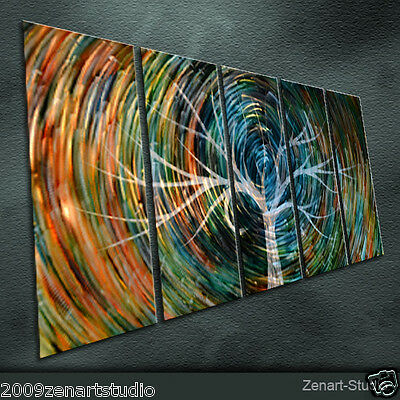 Original Special Metal Wall Art Modern Abstract Indoor Outdoor Decor-Zenart