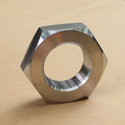 304 Stainless Steel Select Size M52 - M64 Thin Hex Nuts Right Hand Thread
