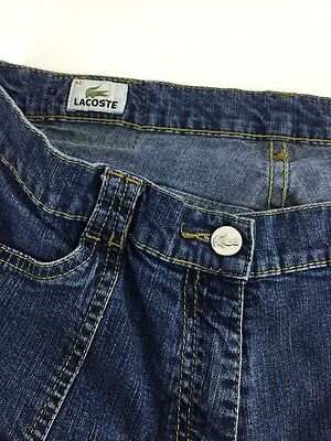 Women's Lacoste Denim Blue Jeans Size: 42