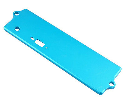 Alum Battery Case Top Cover 122064 Blue For RC Redcat 1/10 Tornado S30 OB Buggy