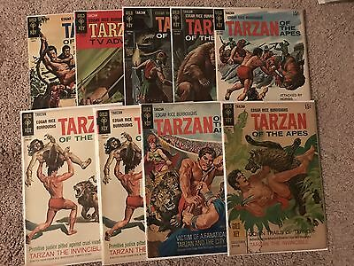 Tarzan of The Apes Gold Key Comics 1968 LOT 9 Comics