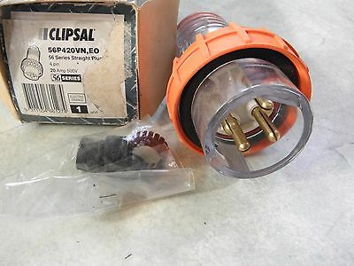 Clipsal 56P420 415v 3 phase 20a industrial plug