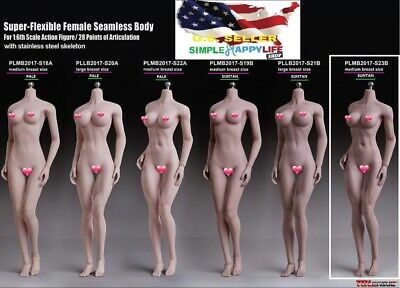 【USA PRIORITY SHIPPING】 TBLeague PHICEN 1//6 BUXOM Female SEAMLESS Body S28A S29B